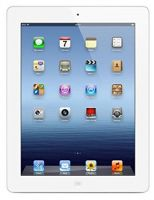 Apple iPad 3 (White, 32GB) Wi-Fi + Cellular (Unlocked) Good