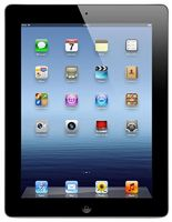 Apple iPad 3 (Black, 16GB) Wi-Fi + Cellular (Unlocked) Good