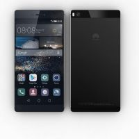 Huawei P8 (Black, 16GB) - Unlocked - Excellent