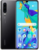Huawei P30 (Black 128GB) - Unlocked - Excellent