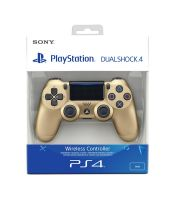 Dual Shock Controllers - Gold