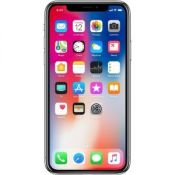 Apple iPhone X 64GB Silver (Unlocked) Excellent