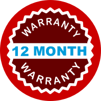 12 meses de garantia integrante